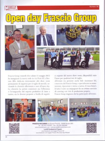 Open day Frascio Group
